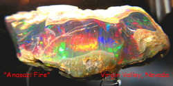 Anasazi Fire Opal :: Before Cutting
