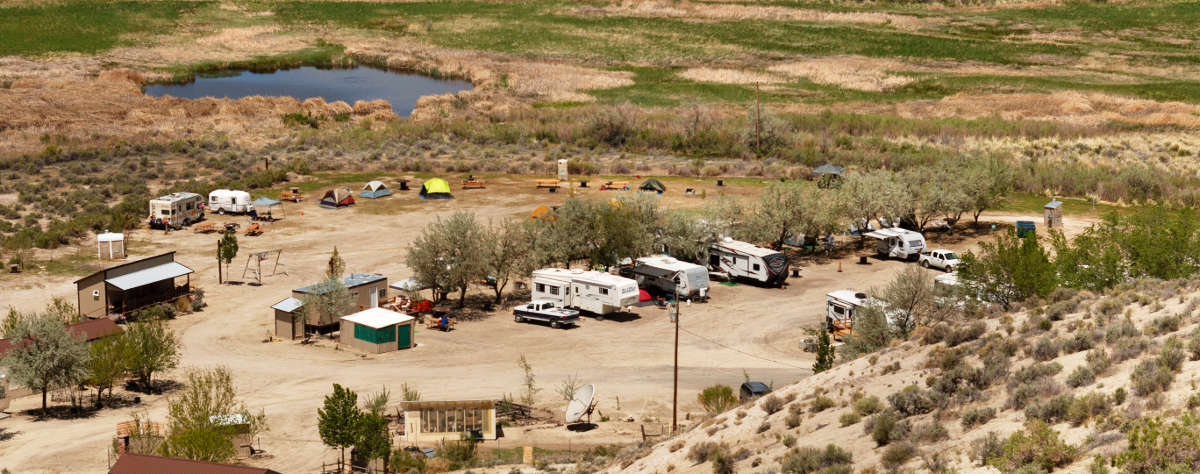 RV Park, Dry Camper & Tent Spaces